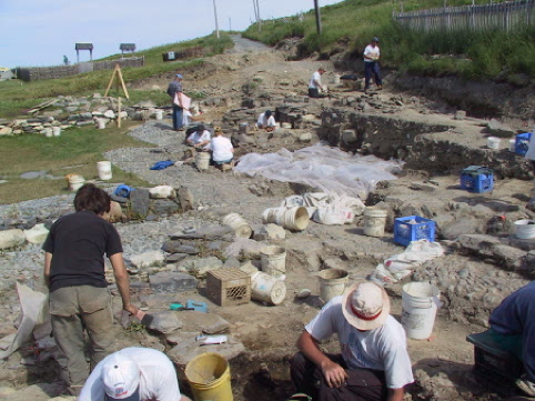 Archaeologists digging up history