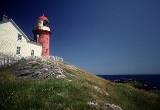 Lighthouse in Ferryland