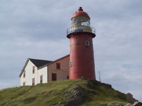 The lighthouse at Ferryland is a great destination for an afternoon hike